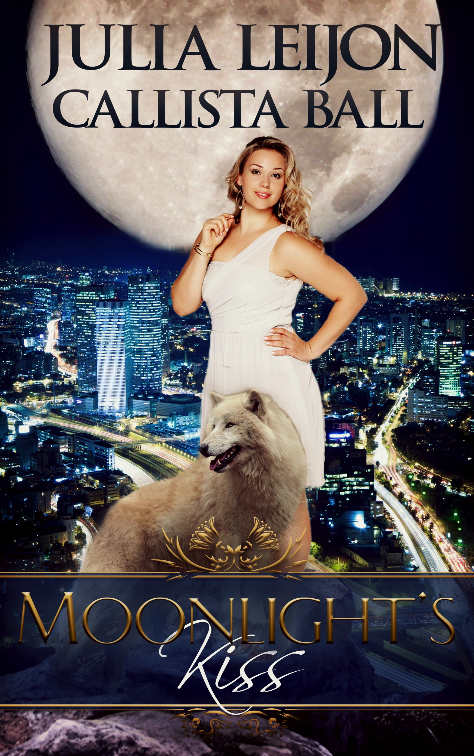 Moonlight's Kiss: A BBW & Werewolf Romance